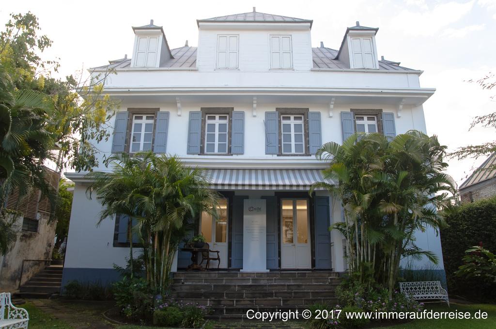 Villa Cailli in Saint-Denis La Réunion - www.immeraufderreise.de