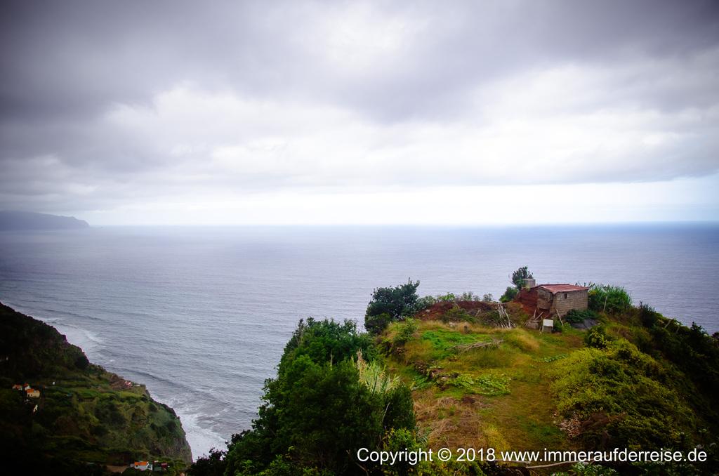 Atlantik Madeira bei Rocha de Baixo