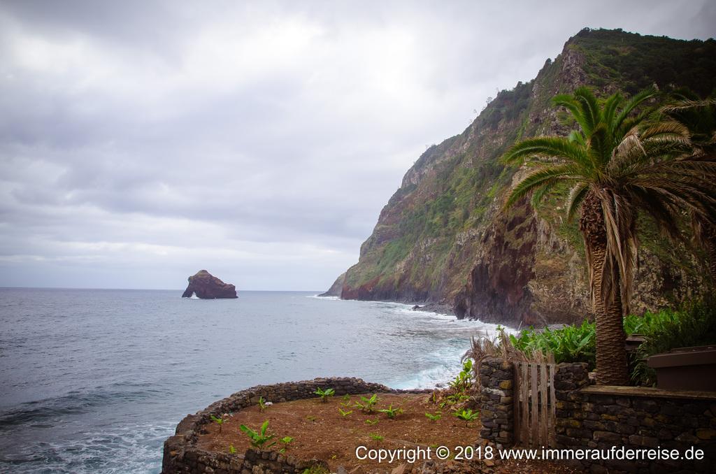 Küstenabschnitt Rocha das Vinhas Madeira
