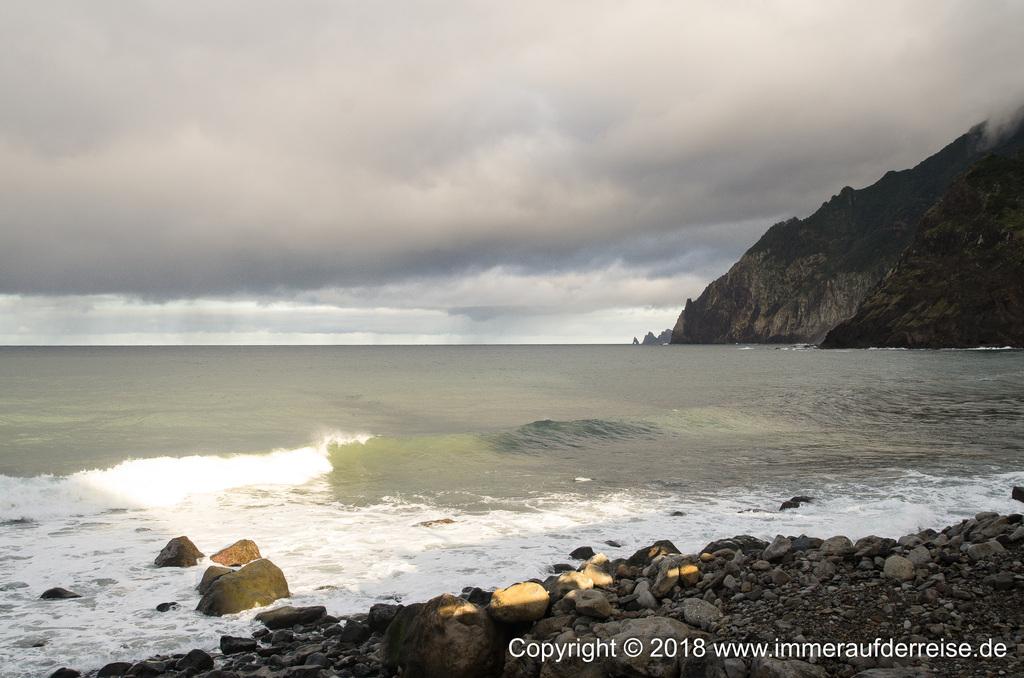 Blick nach Maiata de Baixo Madeira