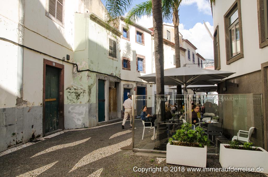 Altstadt Funchal Madeira Gassen