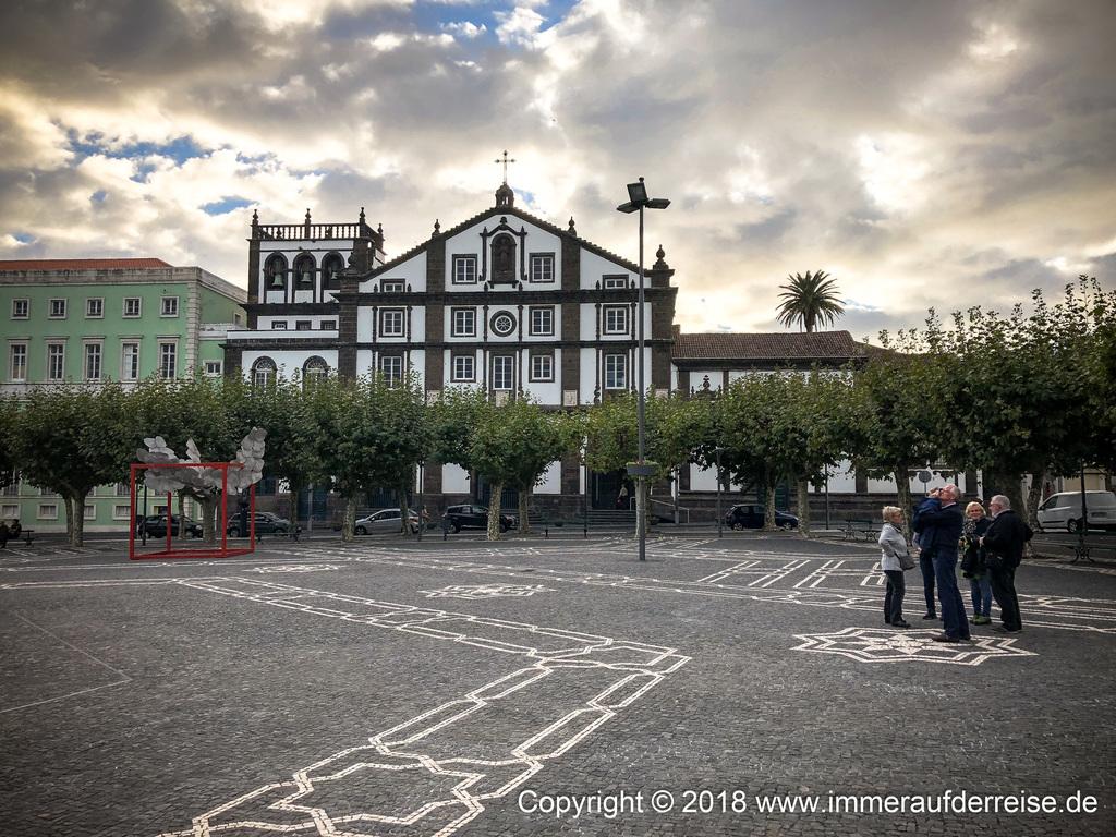 Klosterfassade Ponta Delgada