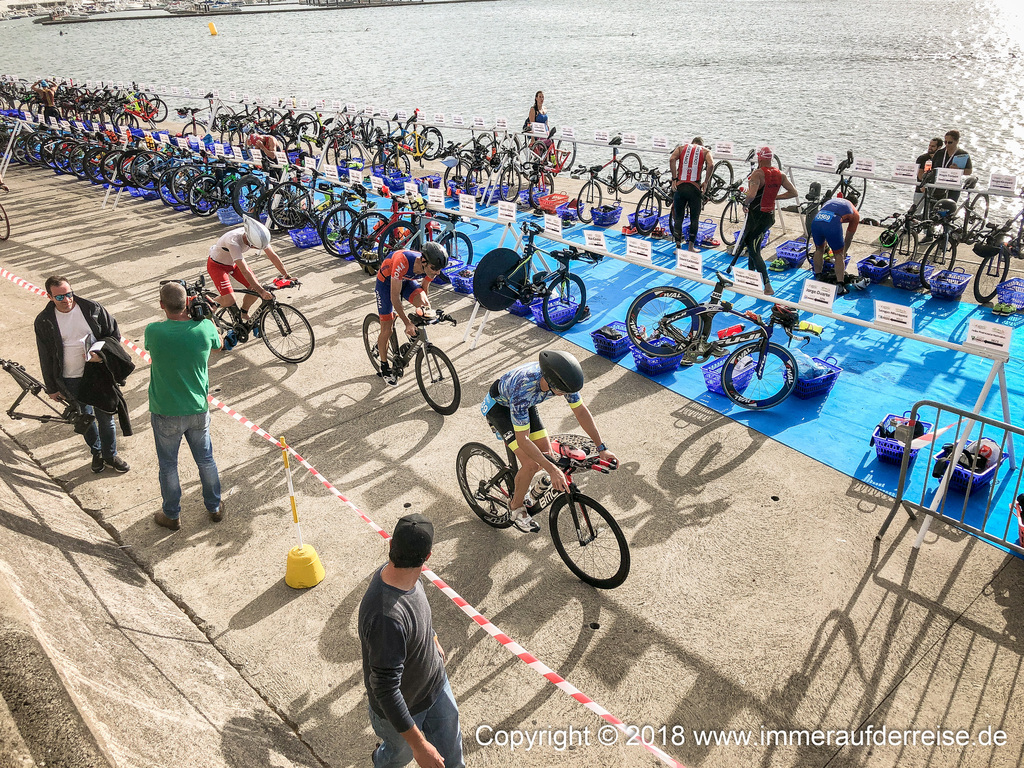 Triathlon in Ponta Delgada
